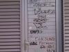 Vyčistenie od graffiti absencia anti-graffitové ochrany Prievidza2